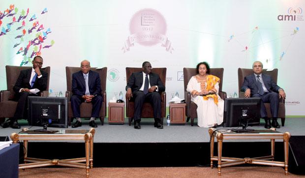 FORUM DES LEADERS DE MEDIAS D'AFRIQUE