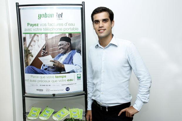 Edouard Rocca, Responsable Chargé du Développement Commercial de Yobantel