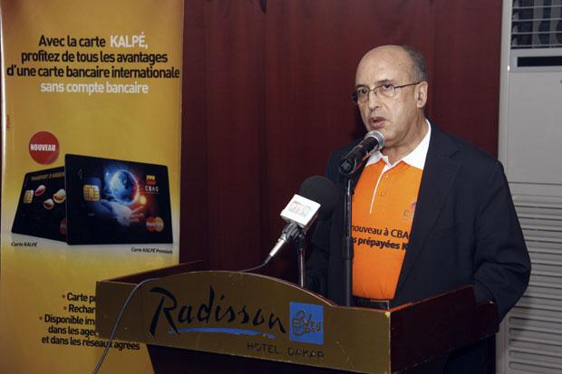Abdelkrim Raghni DG de CBAO, Groupe Attijariwafa Bank