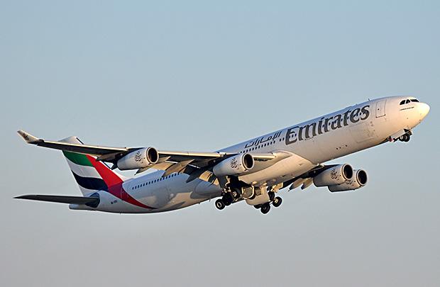 Les passagers voyageront à bord d'un Airbus A340-300 dans une configuration à trois classes