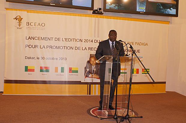 Cérémonie officielle de lancement du Prix Abdoulaye FADIGA pour la promotion de la Recherche Economique - Edition 2014