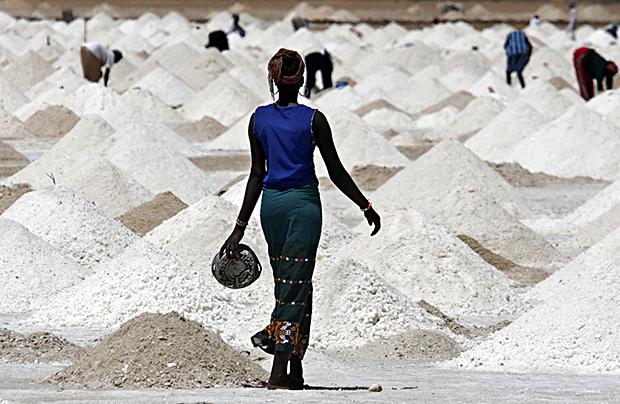 Moins de la moitié du sel produit au Sénégal est iodé