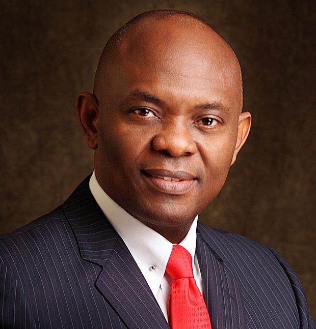 Tony Elumelu, entrepreneur,  philanthrope et président de Heirs Holdings Limited