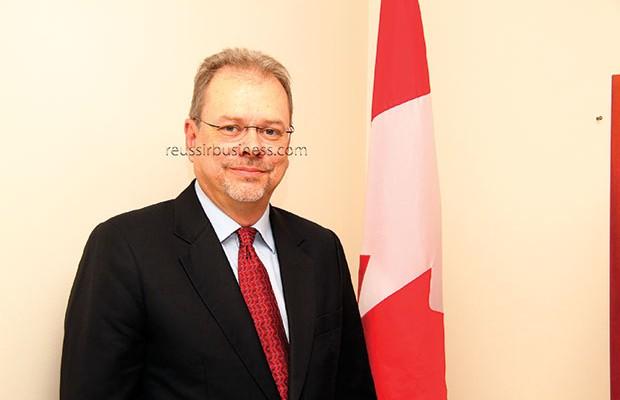 S.E.M. Philippe BEAULNE  Ambassadeur du Canada au Sénégal