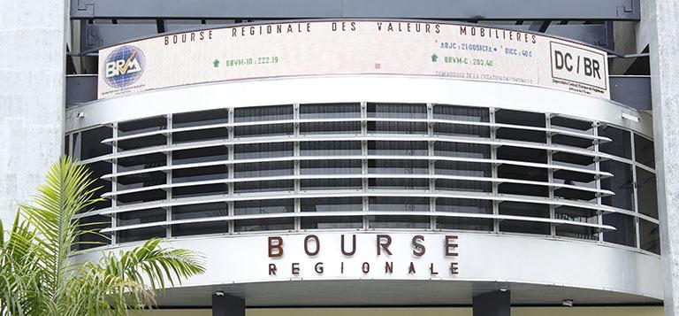 Siège de la BRVM à Abidjan