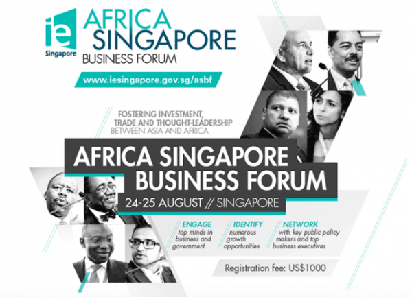 Singapour Forum Africa