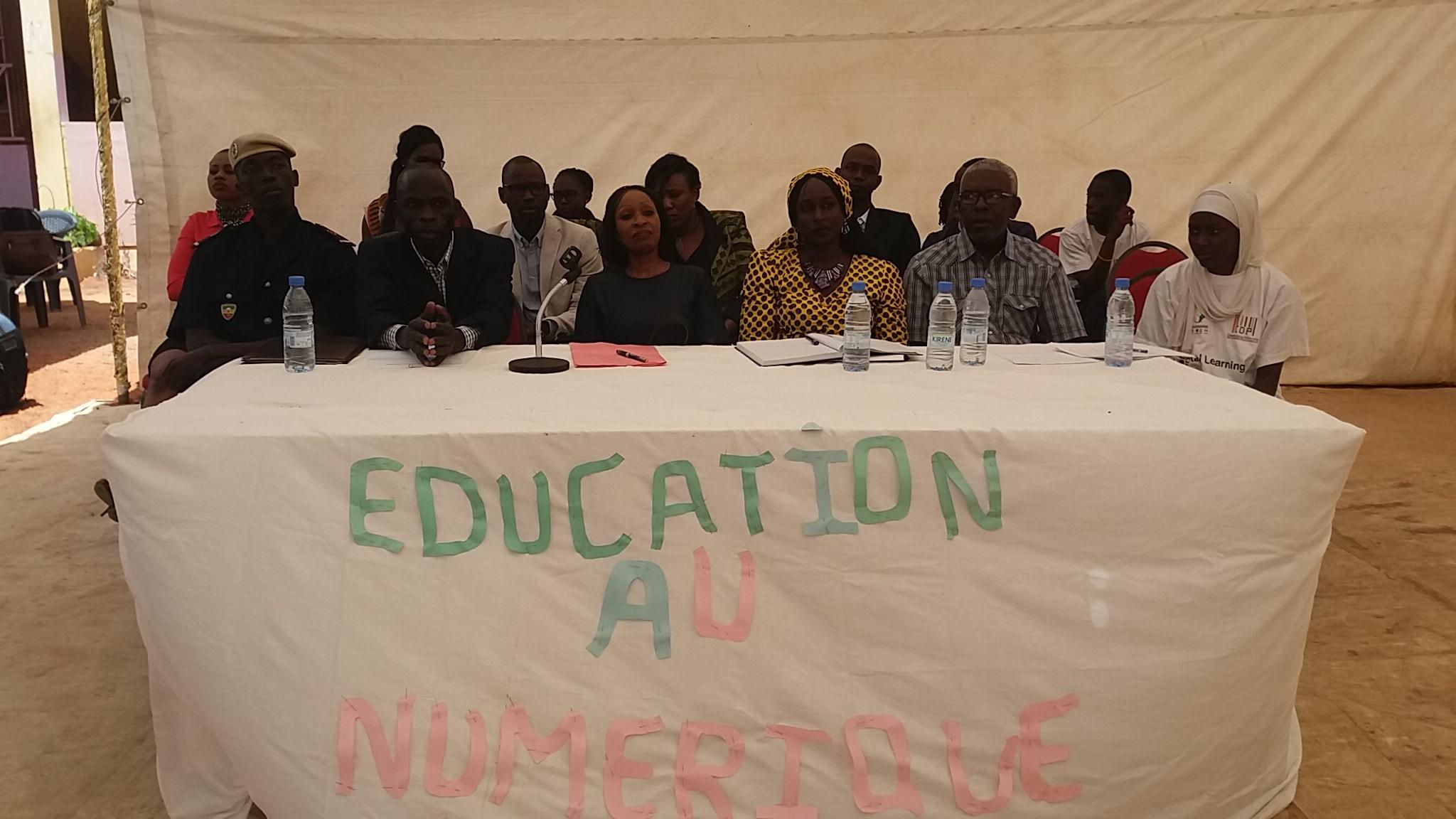 Awa Ndiaye, CDP au lycée Galandou Diouf