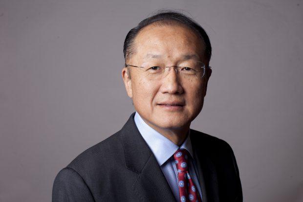 Jim Yong Kim - Président du Groupe de la Banque mondiale.