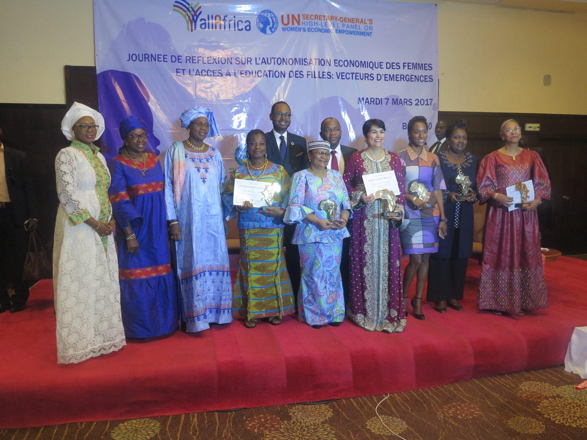 Les lauréats du Prix AllAfrica